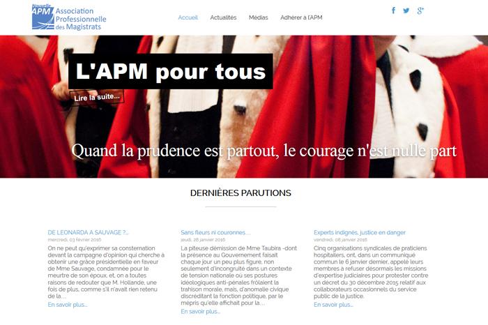 l'APM Site Internet